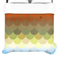 Half Circles Waves Duvet Collection