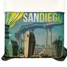 """San Diego"" Woven Comforter Duvet Cover"