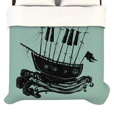 """""""Ship"""" Woven Comforter Duvet Cover"""