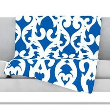 Modern Baroque Microfiber Fleece Throw Blanket