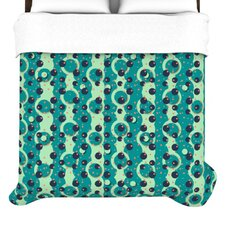 """Bubbles Made of Paper"" Woven Comforter Duvet Cover"