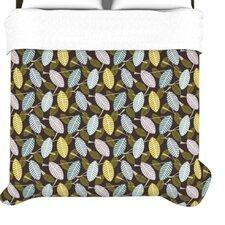 """Moss Canopy"" Woven Comforter Duvet Cover"