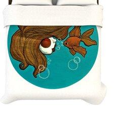 """""""Goldfish"""" Woven Comforter Duvet Cover"""