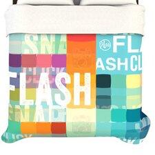 """""""Flash"""" Woven Comforter Duvet Cover"""