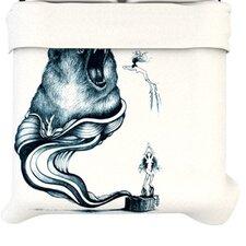"""""""Hot Tub Hunter"""" Woven Comforter Duvet Cover"""