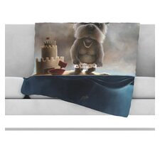 Grover Microfiber Fleece Throw Blanket