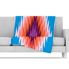 Surf Lovin Hawaii Fleece Throw Blanket