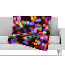 Lights II Fleece Throw Blanket