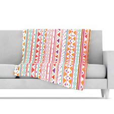 Native Bandana Fleece Throw Blanket