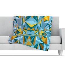 <strong>KESS InHouse</strong> Abstraction Fleece Throw Blanket