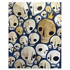 <strong>KESS InHouse</strong> Skulls Floating Art Panel