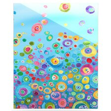 Inner Circle Floating Art Panel