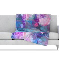 Dream Houses Fleece Throw Blanket