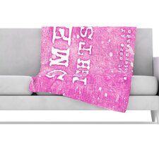 <strong>KESS InHouse</strong> Some Nights Fleece Throw Blanket