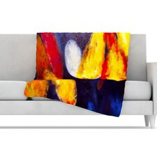 <strong>KESS InHouse</strong> Into the Light Fleece Throw Blanket