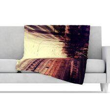 London Microfiber Fleece Throw Blanket