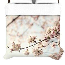 """""""Japanese Cherry Blossom"""" Woven Comforter Duvet Cover"""