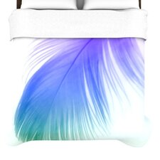 """Feather Colour"" Woven Comforter Duvet Cover"