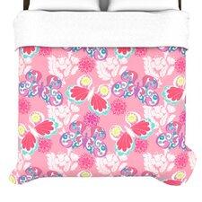 """Baroque Butterflies"" Woven Comforter Duvet Cover"