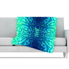 Tattooed Discovery Microfiber Fleece Throw Blanket