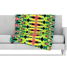 <strong>KESS InHouse</strong> Triangle Visions Microfiber Fleece Throw Blanket