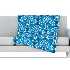 Intertwined Microfiber Fleece Throw Blanket