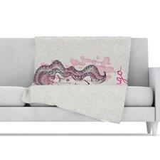 Virgo Microfiber Fleece Throw Blanket