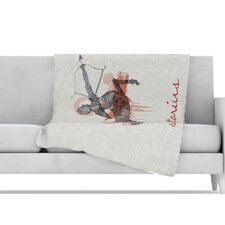 <strong>KESS InHouse</strong> Sagittarius Microfiber Fleece Throw Blanket