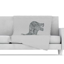 <strong>KESS InHouse</strong> Elephant Microfiber Fleece Throw Blanket