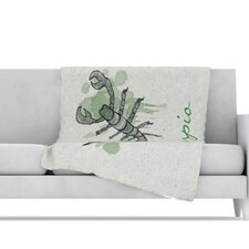Scorpio Microfiber Fleece Throw Blanket