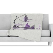 Libra Microfiber Fleece Throw Blanket