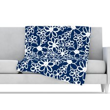 Daisy Lane Microfiber Fleece Throw Blanket