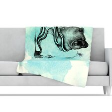 Hot Tub Hunter III Microfiber Fleece Throw Blanket