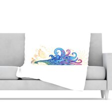 Peace Microfiber Fleece Throw Blanket