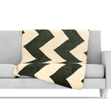 <strong>KESS InHouse</strong> Vintage Vinyl Microfiber Fleece Throw Blanket