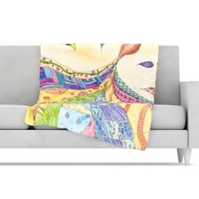 The Painted Quilt Microfiber Fleece Throw Blanket
