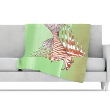 Fish Manchu Microfiber Fleece Throw Blanket