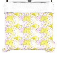 """Yellow"" Woven Comforter Duvet Cover"