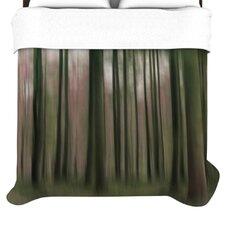 """""""Forest Blur"""" Woven Comforter Duvet Cover"""
