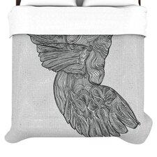 """Hummingbird"" Woven Comforter Duvet Cover"