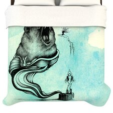 """""""Hot Tub Hunter III"""" Woven Comforter Duvet Cover"""