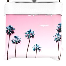 """Pink Cali"" Woven Comforter Duvet Cover"