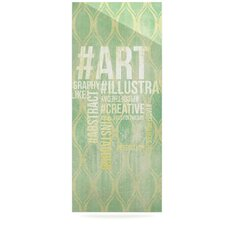 Hashtag byOriginal Graphic Art Plaque