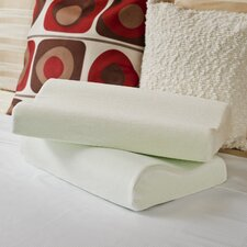 OrthoTherapy Memory Foam Contour Pillows (Set of 2)