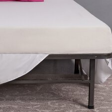 "8"" Memory Foam Mattress and Steel Foundation Set"