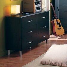 Lexington 6 Drawer Double Dresser