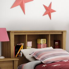 Jumper Twin Bookcase Storage Headboard