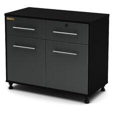 "Karbon 30"" H x 39.5"" W x 19.5"" D Base Cabinet"