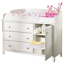 Cotton Candy 3 Drawer Changing Table