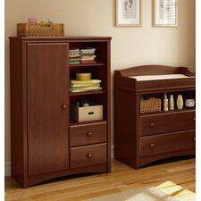 Sweet Morning Changing Table and Armoire with Drawers